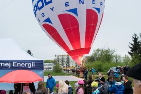 Balon.Lab odwiedził Piastów - 3 maja 2017 r.